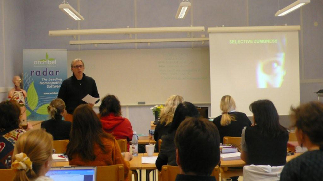 Homeopat Dr. R. Petrucci seminarium 2008 Brastad Sweden
