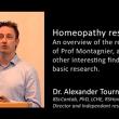 Dr Alexander Tournier föreläser om professor Montagniers forskning – Nordic Homeopathic Symposium 2013