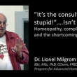 "Dr Lionel Milgrom Part 2 – ""Homeopathy, complementary and the shortcomings of RCTs"" – Nordic Homeopathic Symposium 2013"