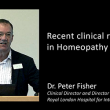 Dr Peter Fisher: Recent clinical research in homeopathy – Nordic Homeopathic Symposium 2013