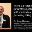 Dr Rune Eliasson – Legal insecurities for medical care professionals