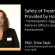 PhD Trine Stub – Safety of Treatments Provided by Homeopaths