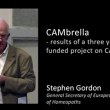 Stephen Gordon – Part 2 – CAMbrella results