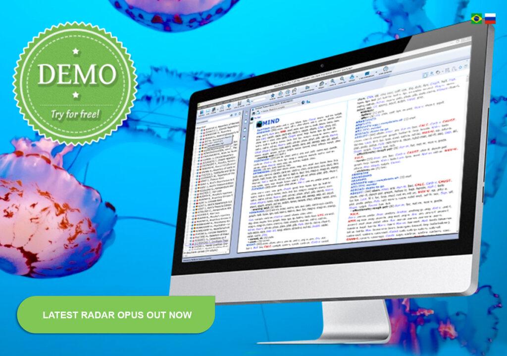 Radar Opus - Produktbild för mjukvara